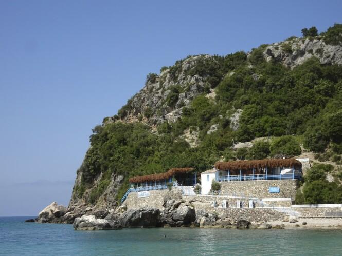 Ostria Restaurant serverer hjemmelaget gresk mat med superferske råvarer. FOTO: Michael Brüel
