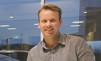 <strong>PAKNING:</strong> Produktsjed i Hyundai, Øyvind Knudsen sier en pakning skal løse snøproblemene for Kona. Foto: Hyundai