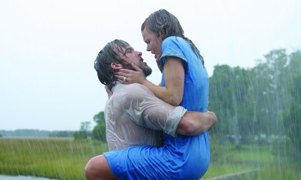 POPULÆR DUO: Kjemien mellom Ryan Gosling og Rachel McAdams satt nærmest fyr på lerretet i «The Notebook» fra 2004. FOTO: New Line Cinema