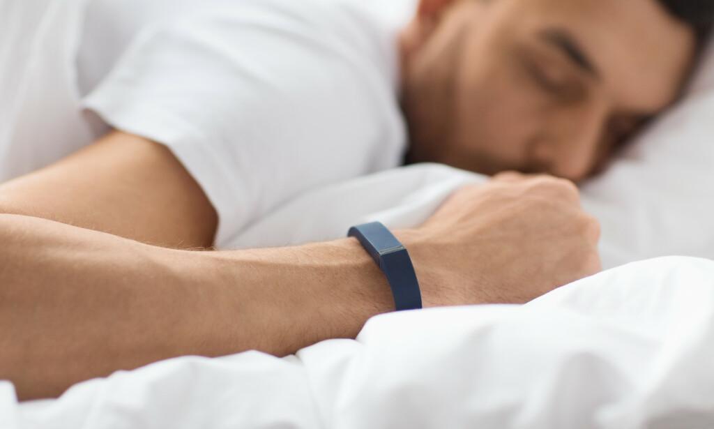 Måle søvn: Kan du bruke aktivitetsmåleren til å se hvor mye du sover om natta, og hvor god søvnkvaliteten er? Foto: NTB Scanpix