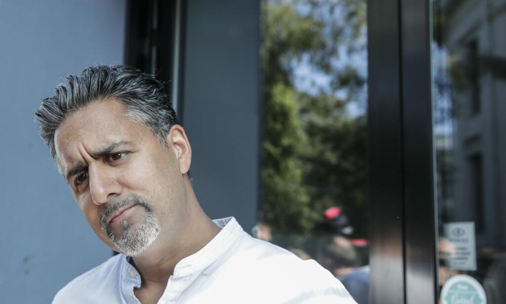Abid Raja sier det ikke var hans intensjon å sammenligner Frp med nazisme ved å kalle partiets retorikk for «brun propaganda». Foto: Vidar Ruud / NTB scanpix