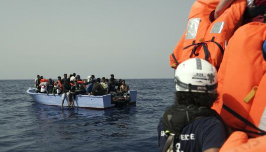 Ocean Viking reddet 109 mennesker i Middelhavet