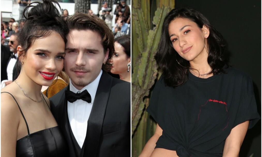 SLUTT: Nylig skal Hana Cross og Brooklyn Beckham ha gjort det slutt. Nå er han observert med danseren og musikeren Lexy Panterra nok en gang. Foto: NTB Scanpix
