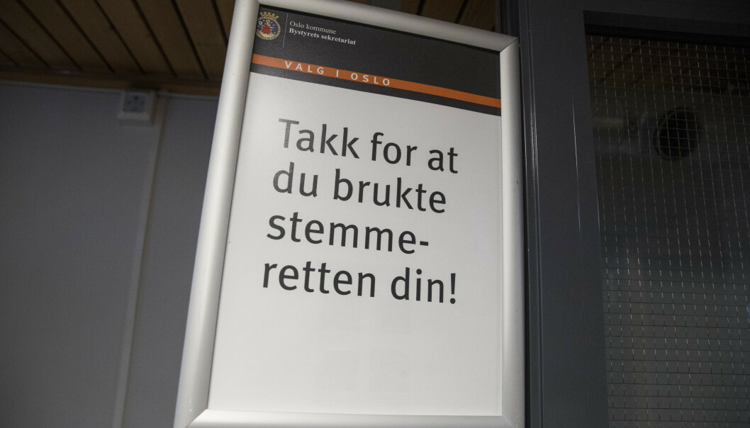 Ibestad kommune i Troms kan bli kroneksemplet på at hver stemme teller. Opptellingen av slengere viser at Høyre mangler 4/19-dels stemme på å sikre ordføreren. Illustrasjonsfoto: Håkon Mosvold Larsen / NTB scanpix