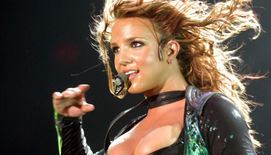 STORHETSTIDEN: Britney Spears under en konsert i 2004. Det samme året var hun på «The Notebook»-audition. FOTO: Scanpix