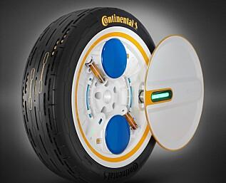 Hjulet som fyller luft av seg selv