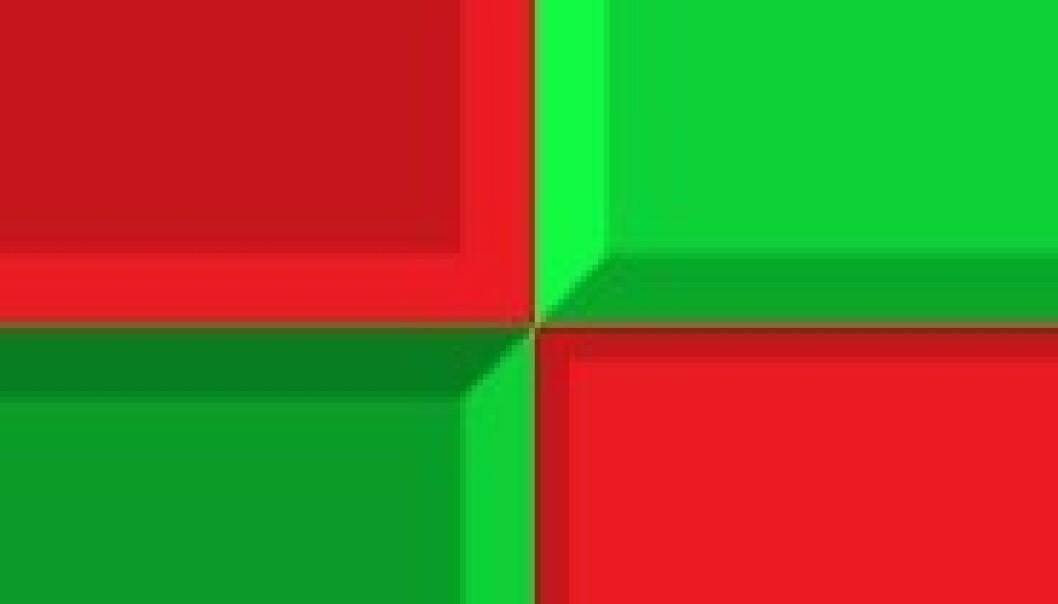 Prøv spillet: Treffer du rødt, er du ferdig