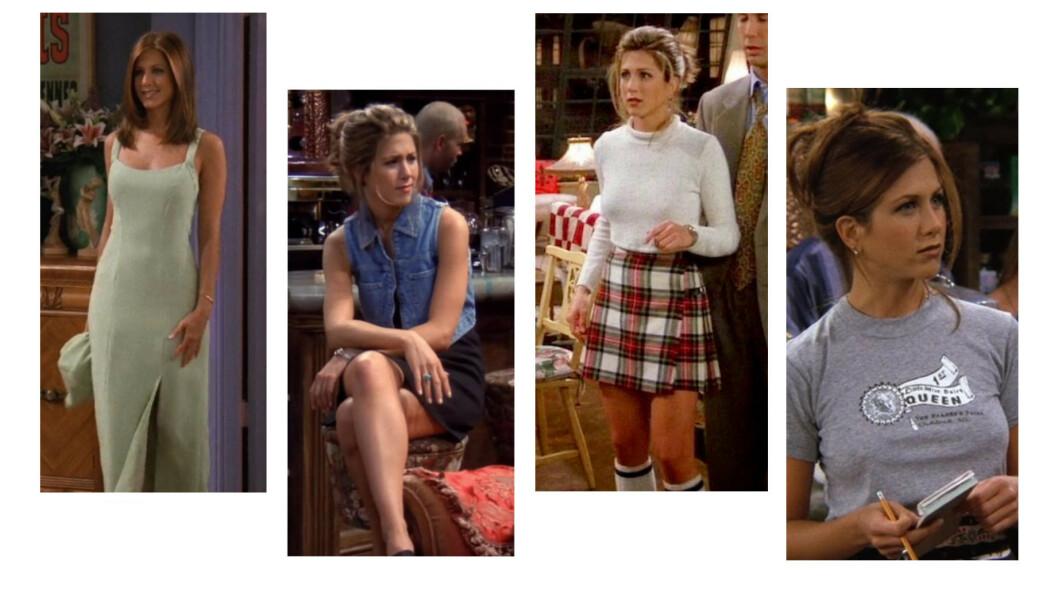 STILSIKKER: Rachel Green kapret etter hvert drømmejobben hos Ralph Lauren i «Friends». Nå lanserer merket en egen kolleksjon inspirert av karakteren. FOTO: Scanpix