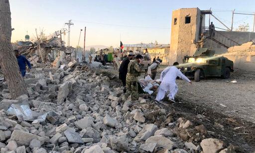 image: Afghansk sykehus rammet av kraftig lastebilbombe – mange drept og såret