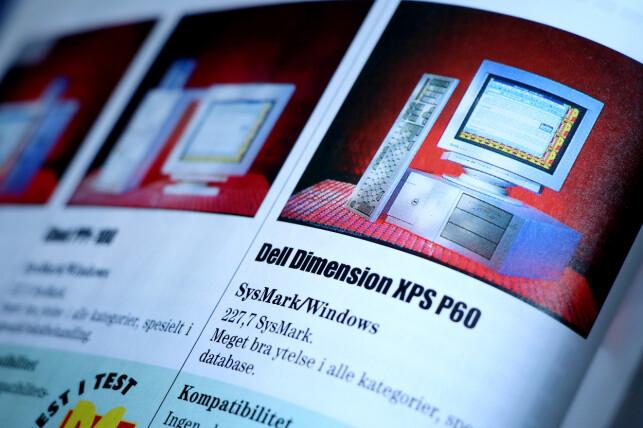 Prisen på Dell Dimension XPS P60 tilsvarer nesten 34.000 kroner i dag. 📸: Ole Petter Baugerød Stokke