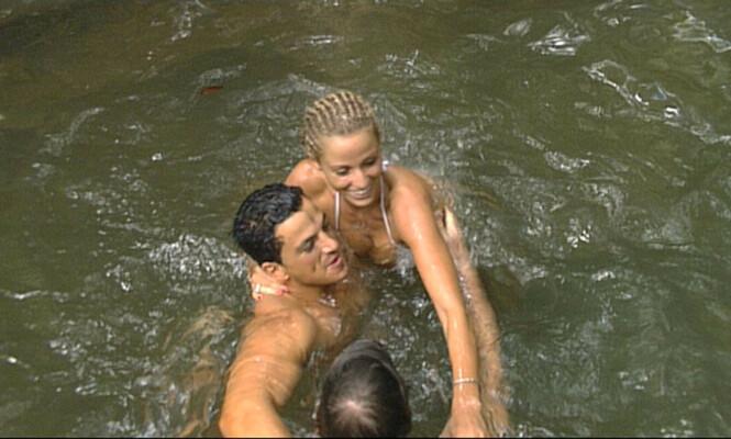 <strong>REALITY:</strong> Peter Andre og Katie Price møttes på realityprogrammet «I'm a Celebrity... Get Me Out of Here!» i 2004. Foto: NTB Scanpix