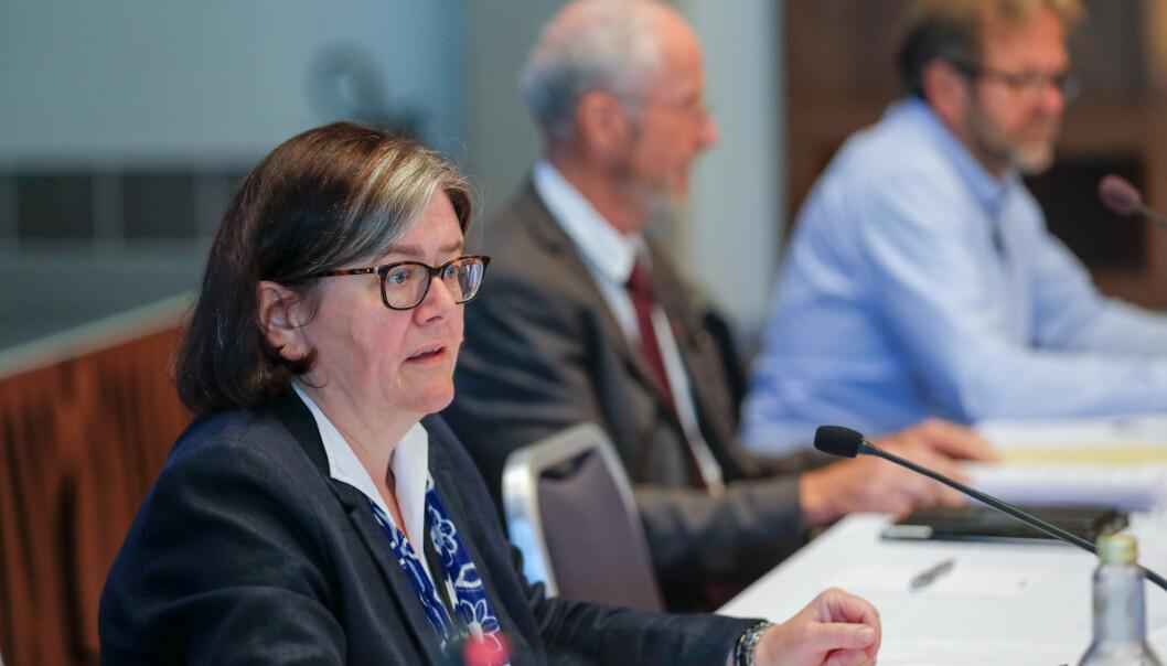 Fylkesordfører i Akershus Anette M. Solli (H) mener NRKs oppførsel er uhørt. Arkivfoto: Cornelius Poppe / NTB scanpix