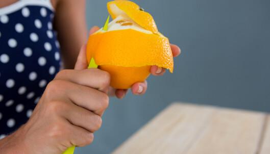 Appelsin kan skremme bort katten