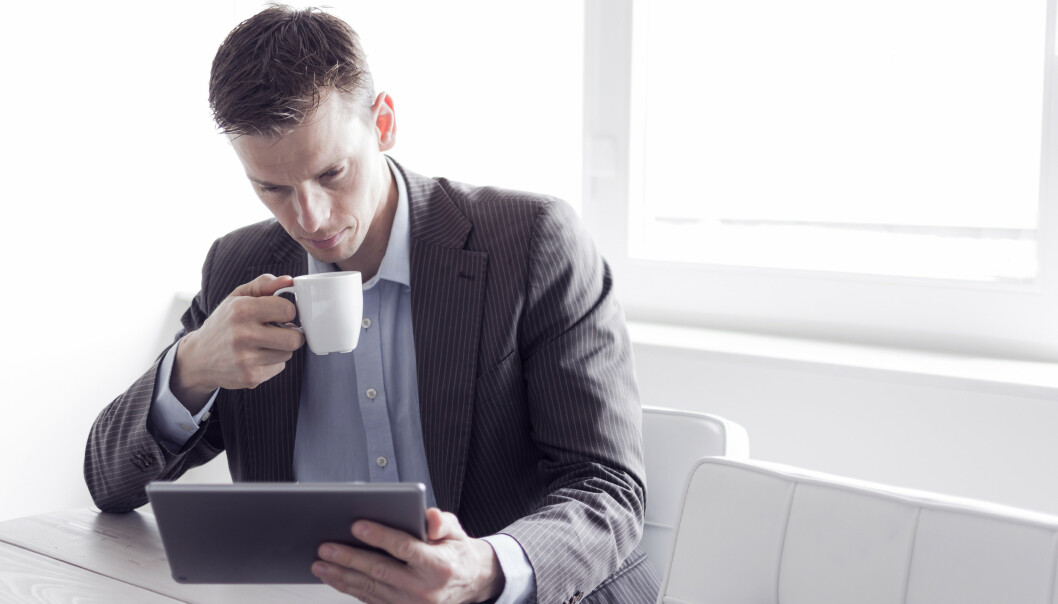 Slik kan du bruke LinkedIn til å få jobbintervju. Foto; Twin Design/Shutterstock/NTB scanpix.