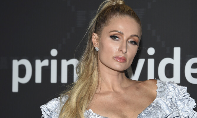 Paris Hilton attends the Spring/Summer 2020 Savage X Fenty show, presented by Amazon Prime, at the Barclays Center on Tuesday, Sept, 10, 2019, in New York. (Photo by Evan Agostini/Invision/AP)