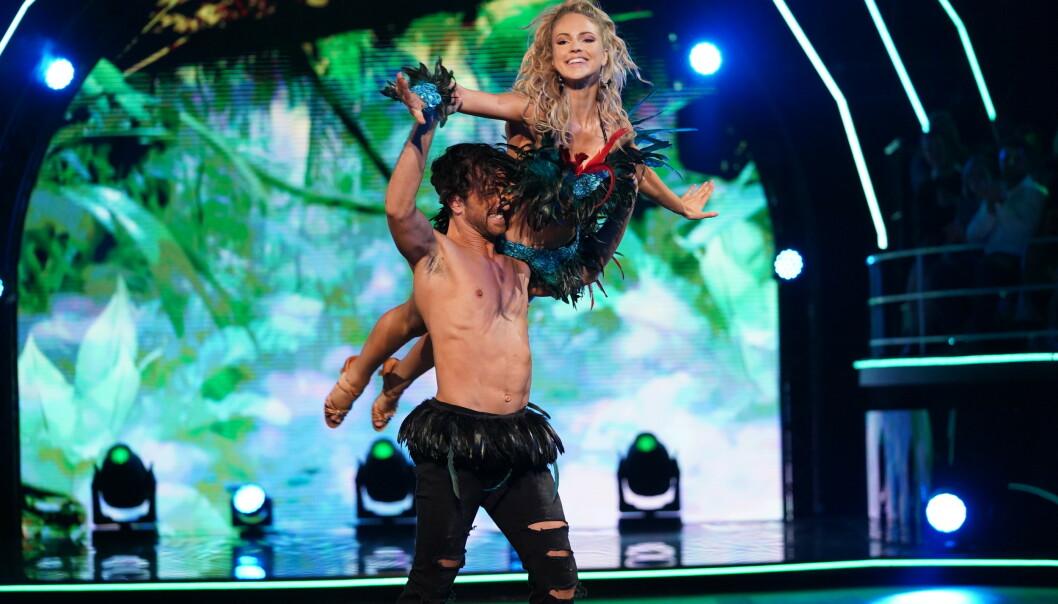<strong>HER SKJER DET:</strong> Her får Mirenna skulderen ut av ledd. Foto: Espen Solli/ TV 2
