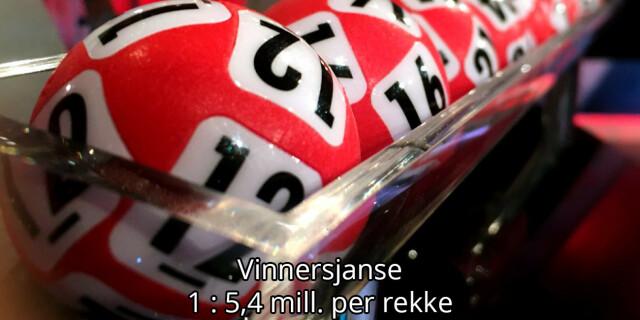 Image: I kveld kan man vinne 14 millioner