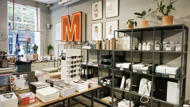 Butikken Granpa har fokus på bærekraft. FOTO: Dorte Mosbæk