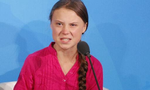image: Trump om opprørt Thunberg: – Hun virker lykkelig
