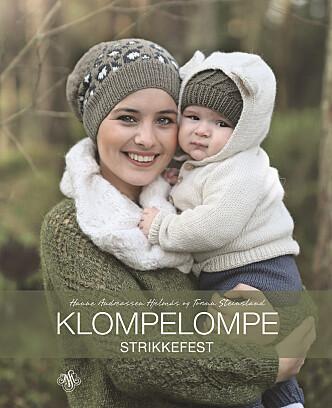 <strong>BOKA:</strong> Oppskriften er hentet fra boka Klompelompe Strikkefest som kom i august på JW Stenersen forlag.