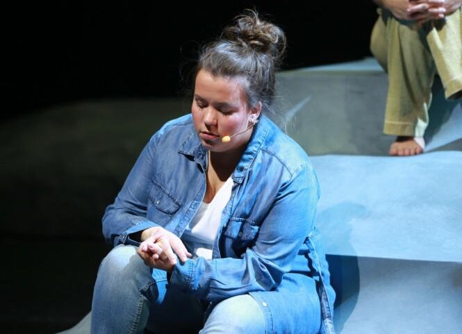 FULLFØRT: Ina har nylig fullført sine tre år på Teaterhøgskolen, og har for tiden mye å gjøre på Brageteateret. FOTO: Stephen Hutton