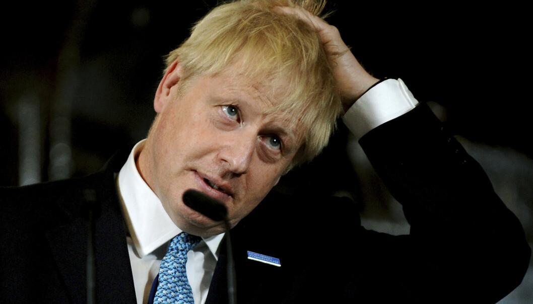 Storbritannia-ekspert Jan Erik Mustad mener statsminister Boris Johnson er klart svekket etter at Høyesterett fastslo at suspensjonen av Parlamentet er ulovlig. Foto: Rui Vieira, AP / NTB scanpix