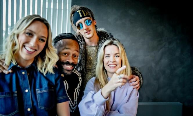 PANELET: Denne gjengen skal avgjøre skjebnen til håpefulle artister neste vår. Foto: Bjørn Langsem / Dagbladet