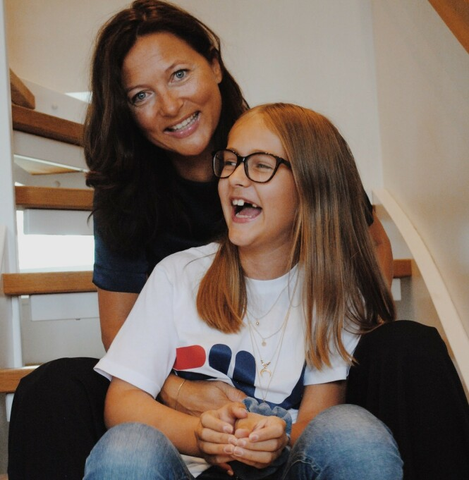 REDD FOR Å MISTE MAMMA: For datteren Pia var det tungt å få vite at mamma måtte amputere begge bena. Foto: Aleksandra Brillanti