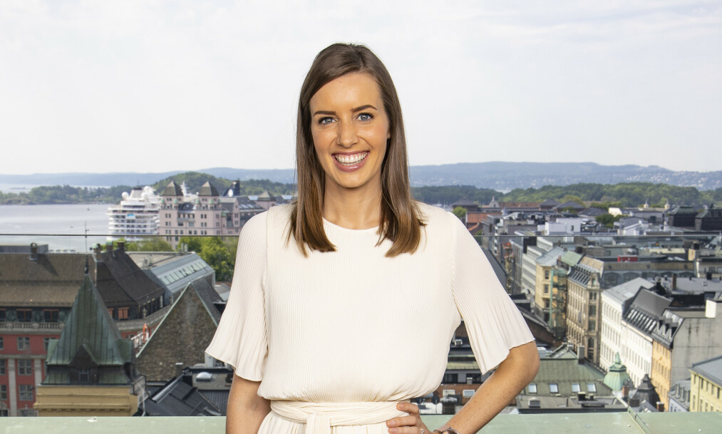 GRAVID: Tv-profil Susanne Wergeland avslører at hun skal bli mamma på nytt. Foto: Tor Lindseth / Se og Hør