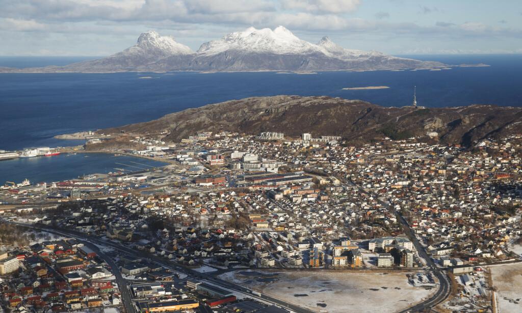 Bodø, her med øya Landegode i bakgrunnen, var en av tre byer som kjempet om kulturhovedstadstittelen denne gangen. Illustrasjonsfoto: Håkon Mosvold Larsen / NTB scanpix