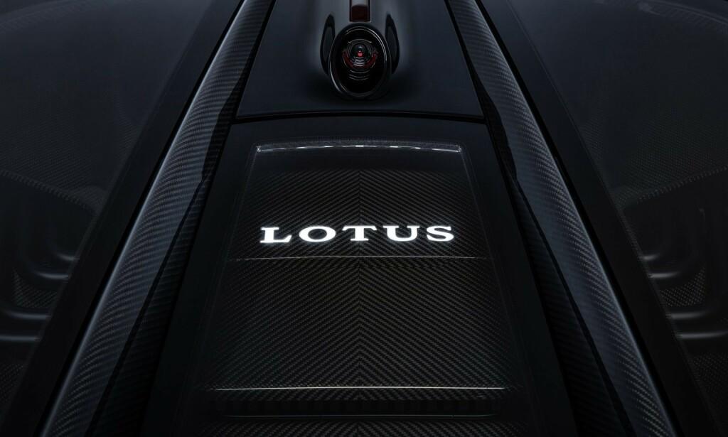 STRØM-KRUTT: Batteripakka på 2000 kW sitter bak setene. Foto: Lotus