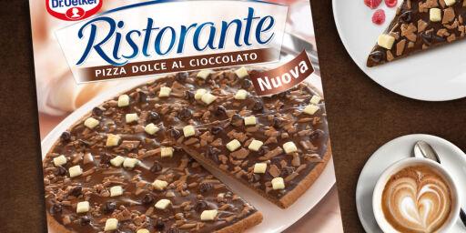 image: NÅ: Slutt for sjokoladepizzaen