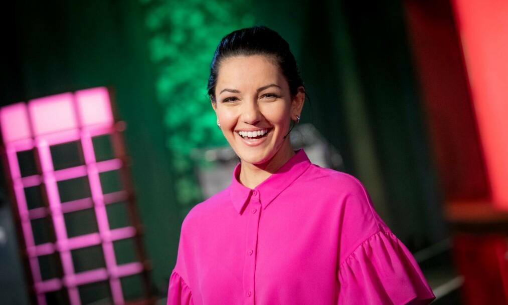 NY KJÆRESTE:: Den populære NRK-programlederen Selda Ekiz har den siste tiden lagt ut flere romantiske bilder på bildedelingstjenesten Instagram. Nå bekrefter hennes nye flamme at de to er kjærester. Foto: NRK