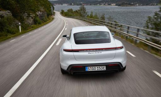 image: Porsche Taycan endelig testet