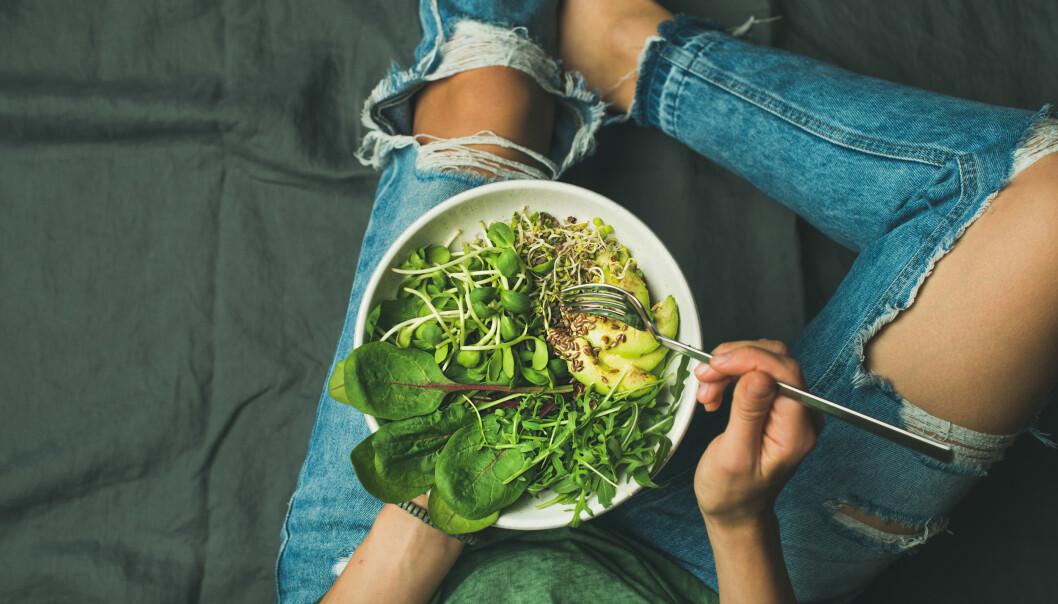 GRØNT: Kutter du ned på kjøttinntaket vil du spare miljøet. Alt er bedre enn ingenting. FOTO: NTB scanpix