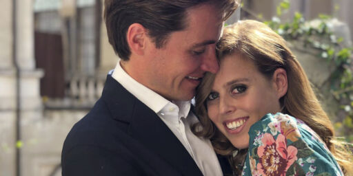image: Prinsesse Beatrice har forlovet seg