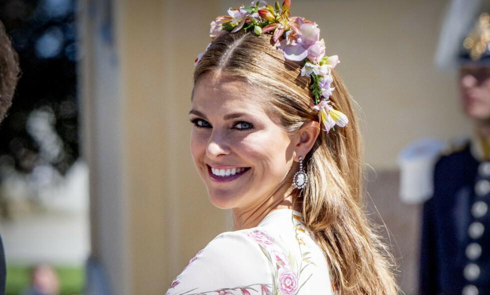 FRAVÆRENDE: Den svenske prinsesse Madeleine svarer på kritikken om at hun ikke er tilstedeværende. Foto: NTB Scanpix