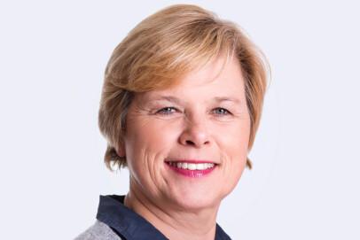 LEDER ROGALAND HØYRE: Elin Schanche (58), leder i Rogaland Høyre og medlem i sentralstyret, samt medlem i kommunestyret i Stavanger og i fylkestinget i Rogaland. Foto: Julie Vold