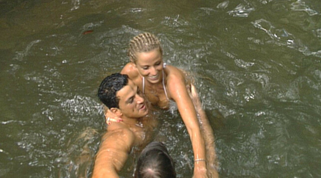 REALITY: Peter Andre og Katie Price møttes på realityprogrammet «I'm a Celebrity... Get Me Out of Here!» i 2004. Foto: NTB Scanpix