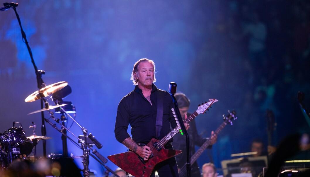 <strong>I SYMFONI:</strong> James Hetfield og Metallica er klar med sin andre S&amp;M-plate sammen med San Francisco Symphony. Foto: Greg Chow/Shutterstock