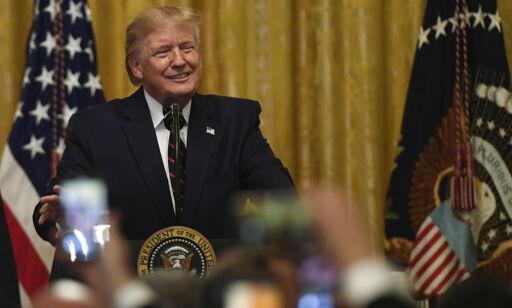 image: Det hvite hus skal ha lagt lokk på flere Trump-samtaler