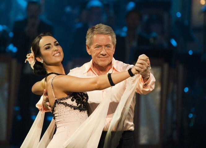 TV-PROFIL: I 2011 deltok Rune Larsen i «Skal vi danse» på TV 2 sammen med Olga Divakova.  Foto: Fredrik Varfjell / Scanpix