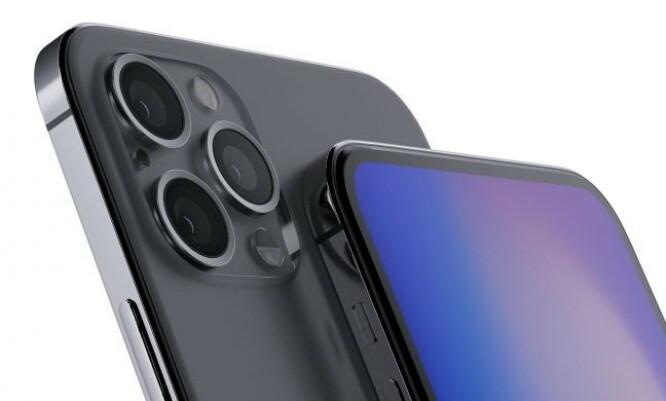 <strong>RETTE KANTER:</strong> Dersom Apple velger å basere seg på iPhone 4-designet, kan det tenkes at rammen vil bli noe a la konseptskissen over. Foto: Ben Geskin