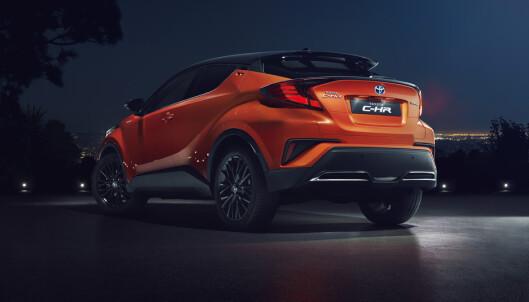<strong>SEG SELV LIK:</strong> Til tross for flere endringer i det utvendige designet er C-RV meget gjenkjennbar. Foto: Toyota