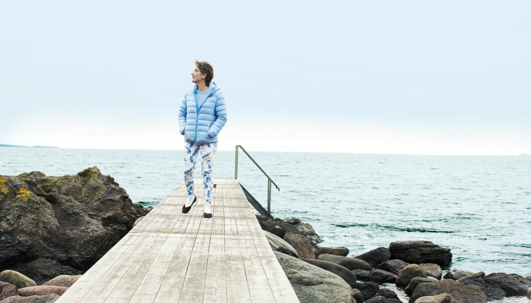PUSTEROM: Nå fokuserer Torill på å ta vare på seg selv, og lager seg sine egne, små pusterom. FOTO: Astrid Waller