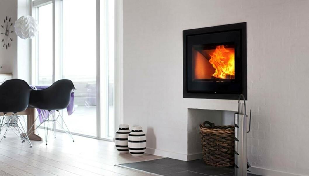 <strong>KONVEKSJONSPEIS:</strong> - Kan plasseres nærmere trevegg og fordeler varmen bedre i rommet den står, sier Ronnie Solberg. Foto: Produsent / Seljordvarme.no.