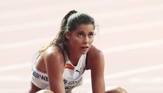 Amalie Iuel slått ut i VM-semifinalen