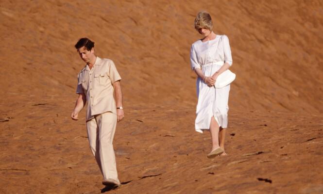 BESØK DOWN UNDER: I 1983, året før prins Harry ble født, var prinsesse Diana og prins Charles på offisielt besøk i Australia. FOTO: NTB Scanpix