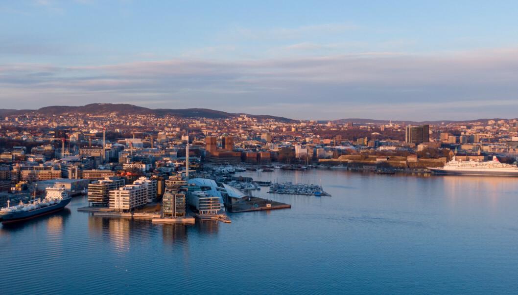 <strong>STERKEST:</strong> Oslo hadde sterkest 12-måneders vekst med 4,7 prosent, ifølge Eiendom Norges september-tall. Foto: Shutterstock/NTB Scanpix.