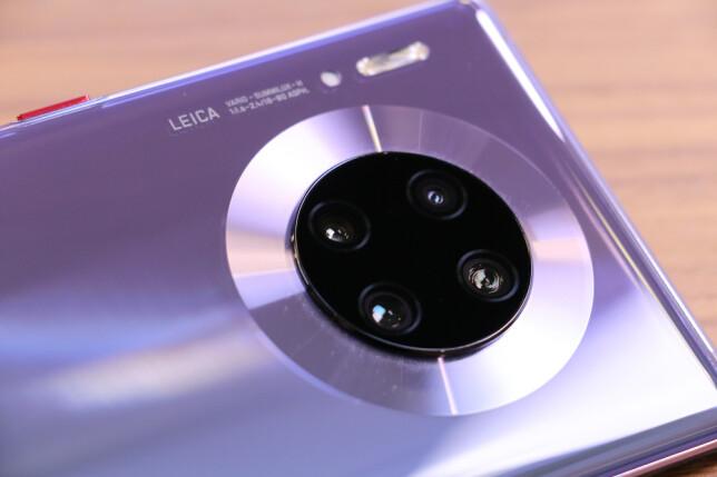 NYTT KAMERA: Huawei har virkelig imponert på kamerafronten i senere år. Mate 30 Pro bør ikke være noe unntak. Foto: Kirsti Østvang